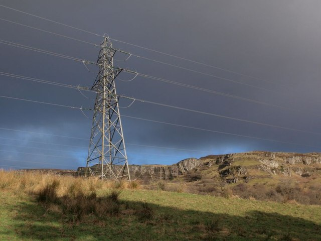 Pylon above Overtoun House