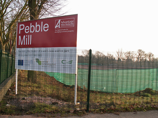 Former site of BBC Birmingham studios, Pebble Mill Road
