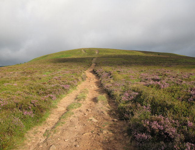 Path up Bâl-Mawr