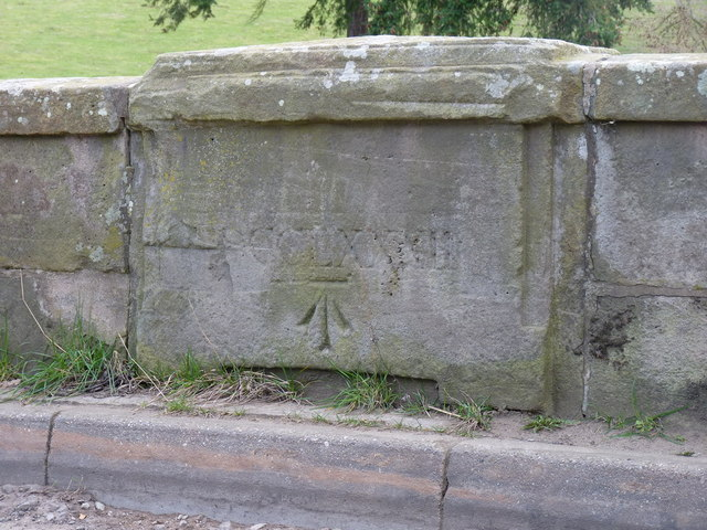 Benchmark on the old bridge
