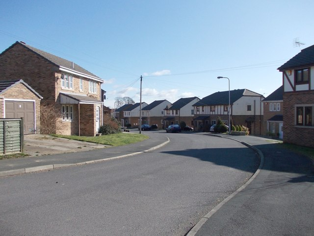 Clydesdale Drive - viewed from Shire Close