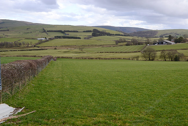 Fields north of Ashfield farm