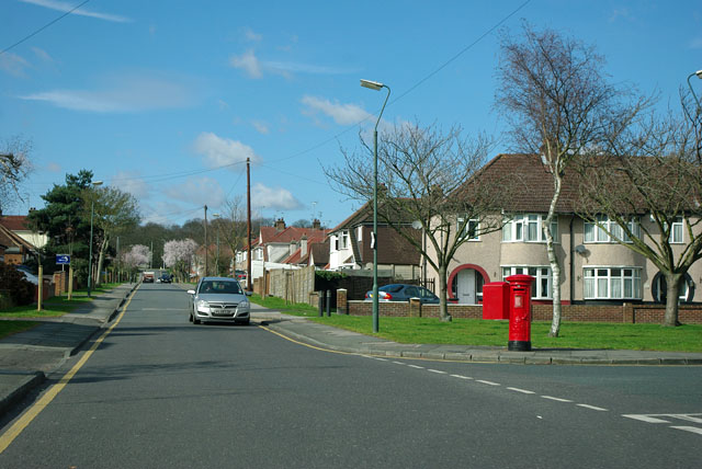 Pillar box on the corner