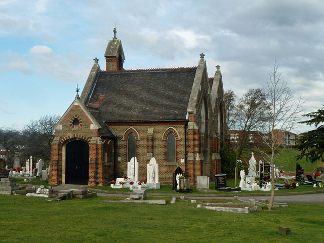 Chapel, Erith cemetery