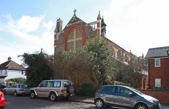 St Michael & St George, Wilcox Road, Fulwell