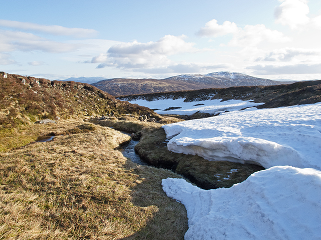 Eastern slopes of Sron na h-Eagaig