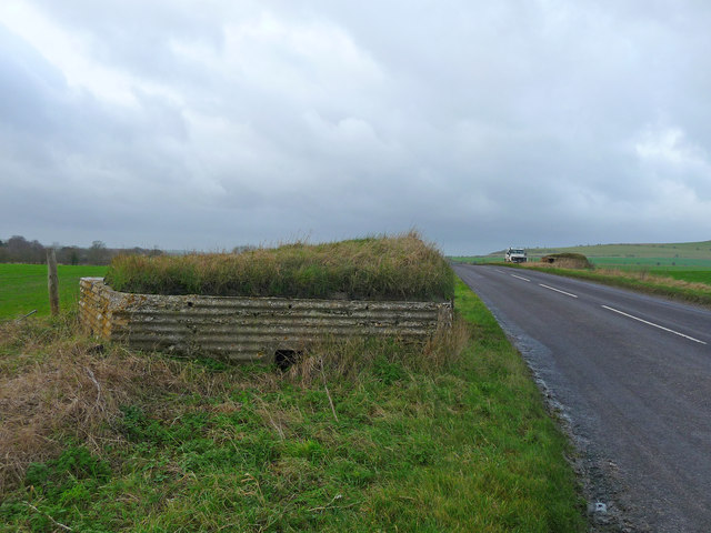Stanton St Bernard - Pillbox