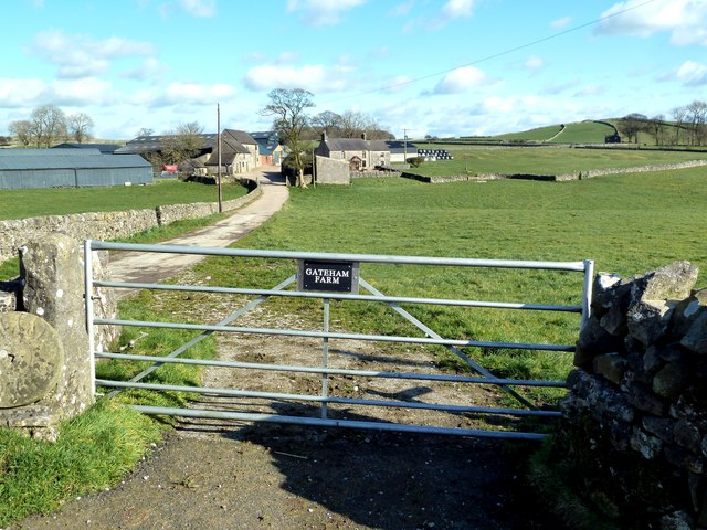 The gate at Gateham Farm