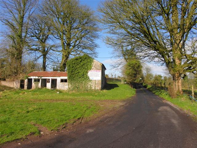 Disused farm buildings, Coolcran