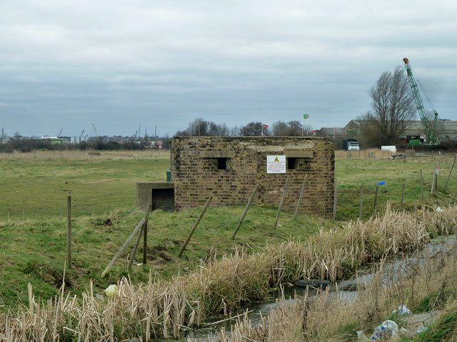 Pillbox by Wallhouse Road