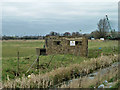 TQ5377 : Pillbox by Wallhouse Road by Robin Webster