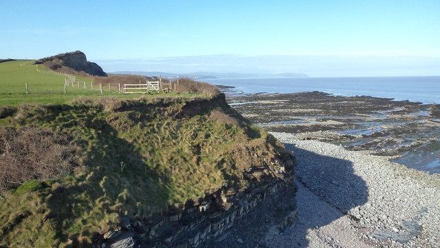 West Somerset coastline
