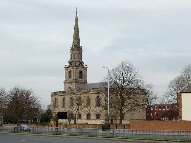 The Church of St John in the Square, Wolverhampton