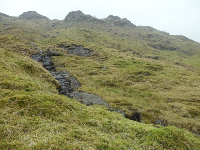 Tributary stream of Inverlochlarig Burn