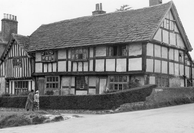 Timbered houses in Lindfield