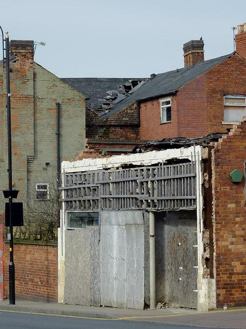 Derelict property in Cleveland Street,  Wolverhampton