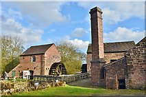 SJ9752 : Cheddleton Flint Mill by Ashley Dace