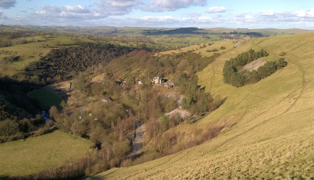 Manifold Valley Staffordshire From 169 Chris Morgan