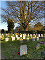 ST7599 : St George's Churchyard, Upper Cam by David Dixon
