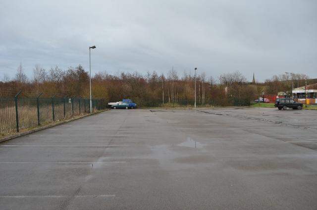 Ellenroad car park