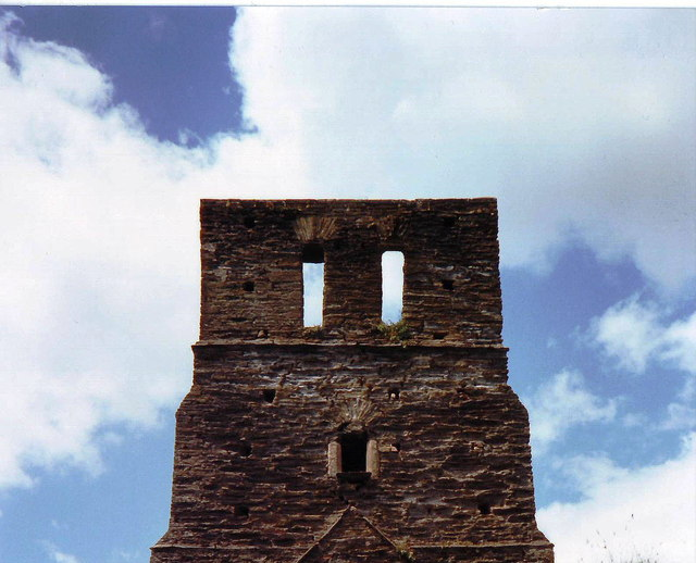 Ruined church Tower, South Huish, Devon