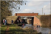 SU5566 : Midgham Bridge by Bill Nicholls