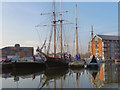 SO8218 : Gloucester Docks by David Dixon