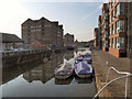 SO8218 : The Barge Arm, Gloucester Docks by David Dixon