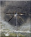 SE2403 : Benchmark and Bolt on tower of Penistone Church by Alan Clark