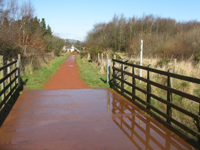 Path at Murieston