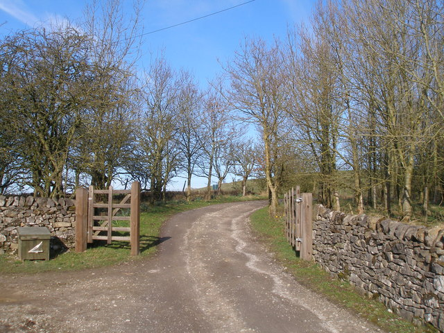 Start of the southern track to Butter Haw