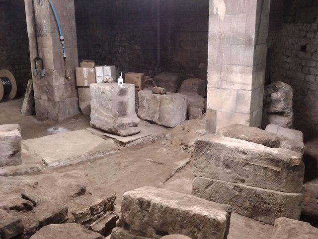 Under the Roman Baths, Bath, Somerset