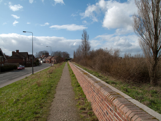 York & Selby Path on south side of River Ouse