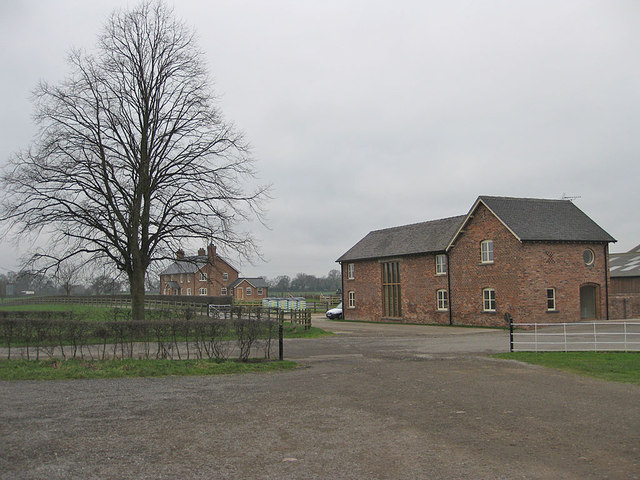 Farm buildings, Wheelock Hall Farm