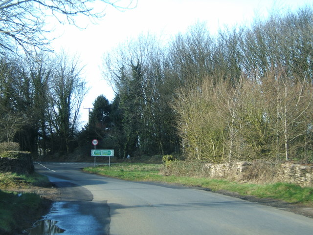 Junction with the A4135