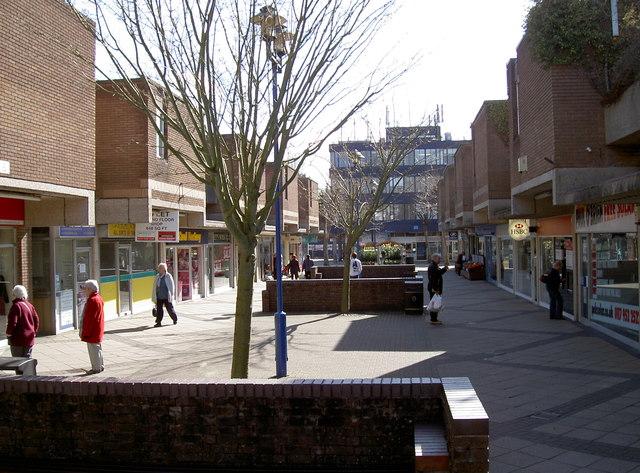 Nailsea Shopping Precinct Neil Owen Cc By Sa 2 0