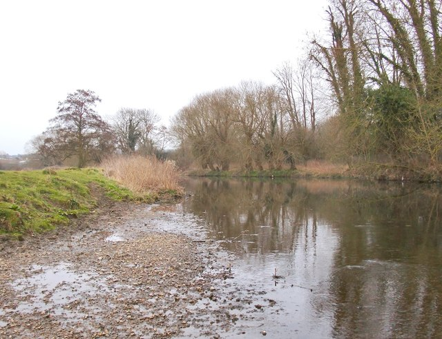The River Mole, downstream from Leatherhead