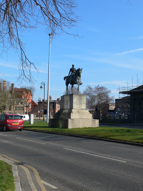 Equestrian Statue of Viscount Combermere