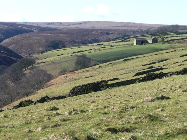 The northern side of Marsden Clough