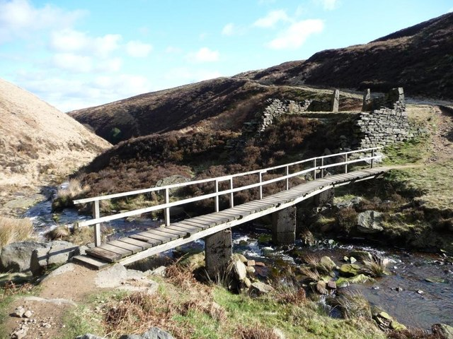 Blackpool Bridge, Marsden Clough
