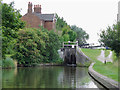 SJ7164 : Rumps Lock and Cottage near Middlewich, Cheshire by Roger  Kidd