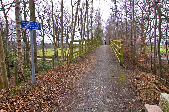Deeside Way, Park