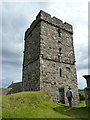 NG0483 : Tùr Chliamainn (St Clement's), Rodel - tower by Rob Farrow