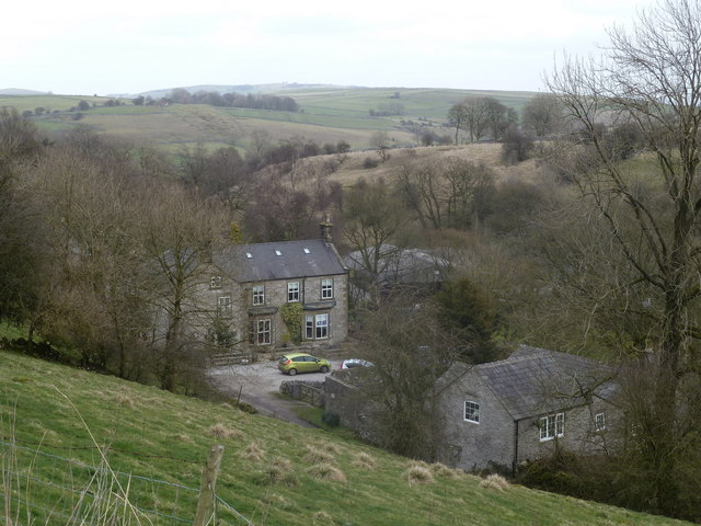 Houses in Priestcliffe and surrounding countryside
