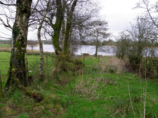 Near the southern end of Lough Muck