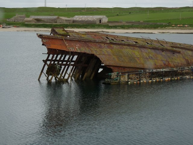 Blockship, Weddell Sound, Orkney Islands