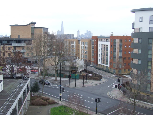 Southampton Way/Peckham Grove junction