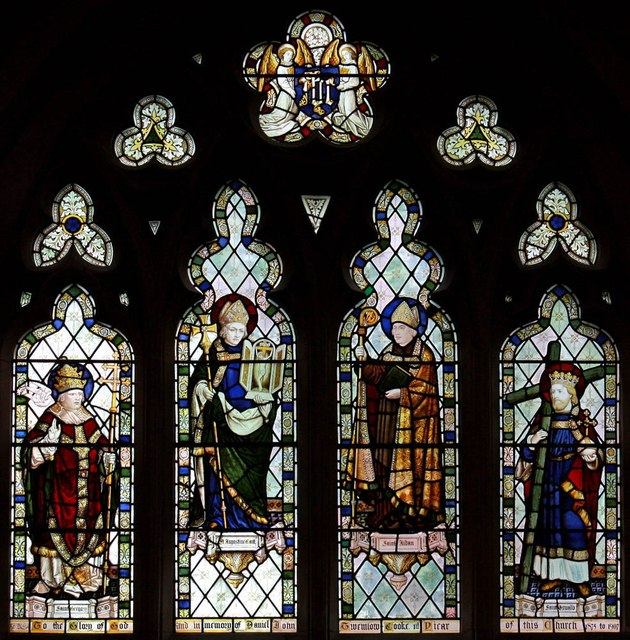St Mary Brookfield, Dartmouth Park Road - Stained glass window