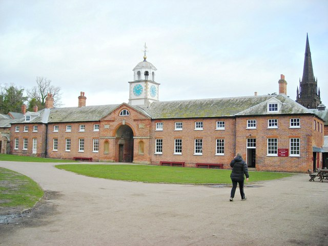 Stable block at Clumber