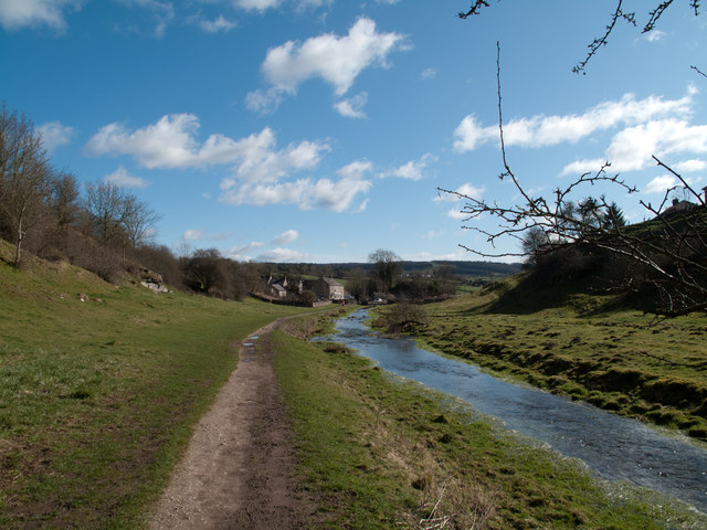 River Bradford downstream